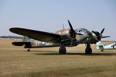 Bristol Blenheim i Mk1 Bombardier léger britannique de la deuxième guerre mondiale tôt Photos libres de droits