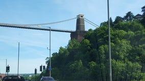 Bristol Bridge Imágenes de archivo libres de regalías