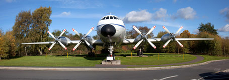 Bristol Britannia B12 G-AOVF Stock Images
