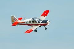Bristol Bulldog-Trainingsflugzeuge Stockbilder