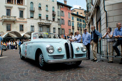 Bristol 400 cabriolet Pininfarina at Mille Miglia 2015 Royalty Free Stock Photography