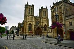 Bristol Cathedral Royaltyfri Bild