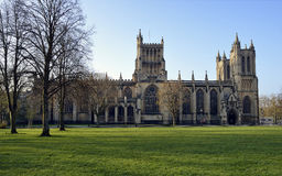 Bristol Cathedral Royaltyfria Foton