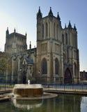 Bristol Cathedral Royaltyfri Foto