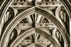 Bristol Cathedral Arch Stock Photography