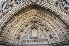 Bristol Cathedral archway entrance Stock Photos