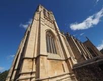 Bristol Cathedral en Bristol Fotos de archivo libres de regalías