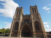 Bristol Cathedral en Bristol Imagen de archivo libre de regalías