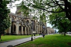 Bristol Cathedral in het Verenigd Koninkrijk royalty-vrije stock foto