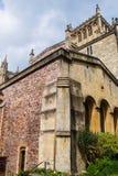 Bristol Cathedral i Bristol i södra västra UK Arkivbild