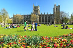 Bristol Cathedral royalty free stock photography