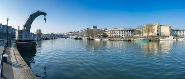 Bristol centrum miasta doki Fotografia Stock