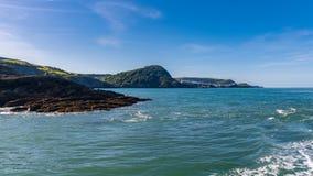 Hele Bay, near Ilfracombe, North Devon, England, UK royalty free stock images