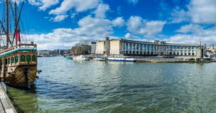 Bristol City Centre Docks Stock Photography