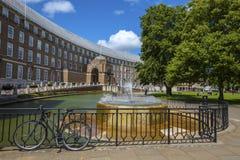 Bristol City Hall royalty-vrije stock afbeeldingen
