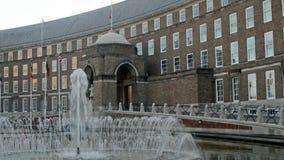 Bristol City Hall, Inglaterra almacen de metraje de vídeo