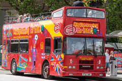 Bristol City Sightseeing Bus Stock Photos