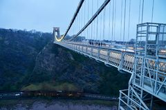 Bristol Clifton-hangbrug Stock Fotografie