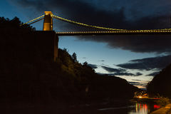 Bristol, Clifton Suspension Bridge Stock Images