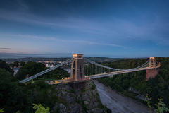 Bristol, Clifton Suspension Bridge Royalty Free Stock Images