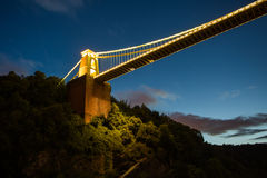 Bristol, Clifton Suspension Bridge Royalty Free Stock Photo