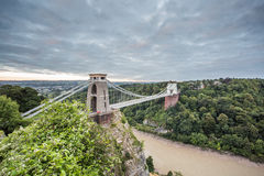 Bristol, Clifton Suspension Bridge Stock Photography