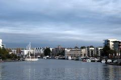 Bristol Docks Foto de Stock Royalty Free