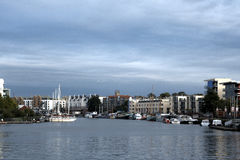 Bristol Docks. The Docks at Bristol England Royalty Free Stock Photo