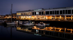 Bristol Docks (Reflections) Royalty Free Stock Images