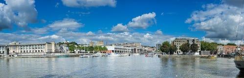 Bristol doki (2) Zdjęcia Royalty Free