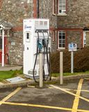 Electric Car Charging Station in Southmead Hospital Royalty Free Stock Photos