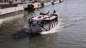Bristol Ferry che si dirige allo spartiacque Fotografie Stock Libere da Diritti