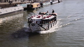 Bristol Ferry som heading till vattendelaren Royaltyfria Foton