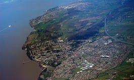 Bristol form plane Royalty Free Stock Photography