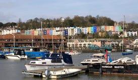 Bristol Harbour Bristol, Engeland Stock Afbeelding