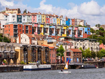 Harbour Waterfront in Bristol, UK Stock Photo