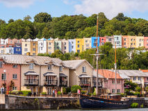 Bristol Harbour Waterfront Royalty Free Stock Images