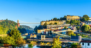 Bristol harbourside at sunrise Royalty Free Stock Photography