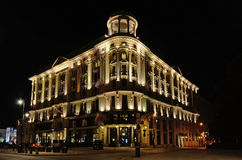 Bristol Hotel in Warsaw (Poland) Stock Image