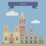 Bristol, Inglaterra ilustración del vector