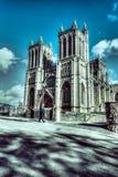 Bristol katedry fasada Zdjęcie Royalty Free