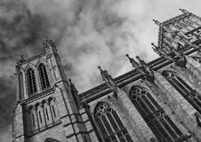 Bristol-Kathedrale Stockbilder