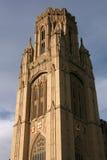 Bristol landmark. Wills Memorial Building - landmark of the University of Bristol, UK stock images