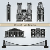 Bristol landmarks and monuments Stock Image