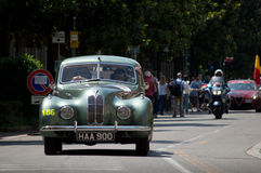Bristol 400 at Mille Miglia 2016 Royalty Free Stock Photography