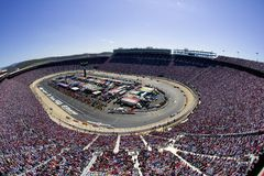 Bristol Motor Speedway. The Bristol Motor Speedway plays host to the NASCAR Sprint Cup Series stock photo
