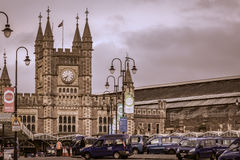 Bristol Rail Station Stockfoto