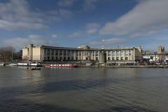 Bristol, Reino Unido, el 21 de febrero de 2019, jefaturas del Lloyds Bank que construyen en Bristol central imagenes de archivo