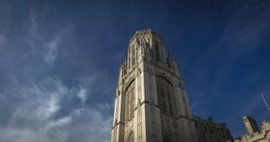 Bristol, Reino Unido, o 21 de fevereiro de 2019, quer a torre de construção memorável na universidade de Bristol fotos de stock