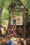 Bristol Renaissance Faire, Wisconsin U.S.A. Fotografia Stock Libera da Diritti
